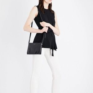 Theory - Black Belted Crepe Blouse - NEW WITH TAGS